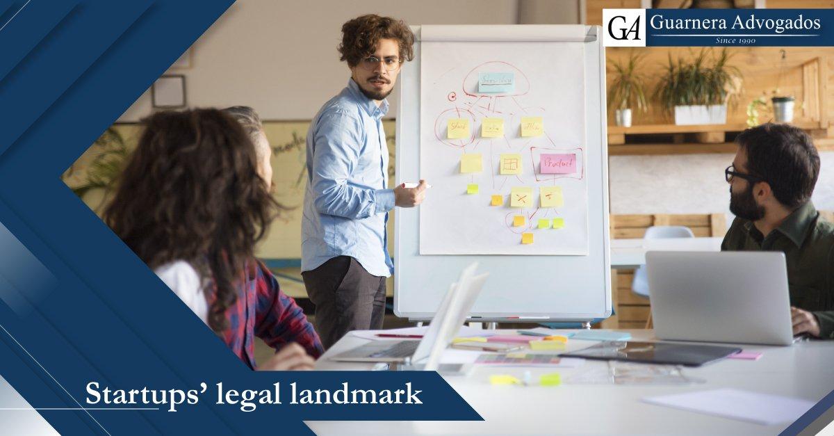Startups legal landmark